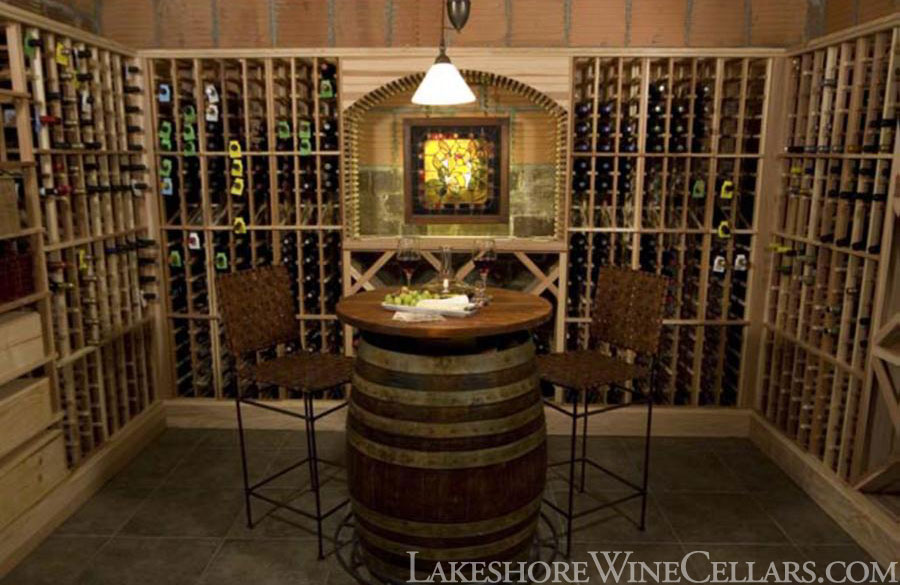Lakeshore wine cellars diy kits for Building wine cellar