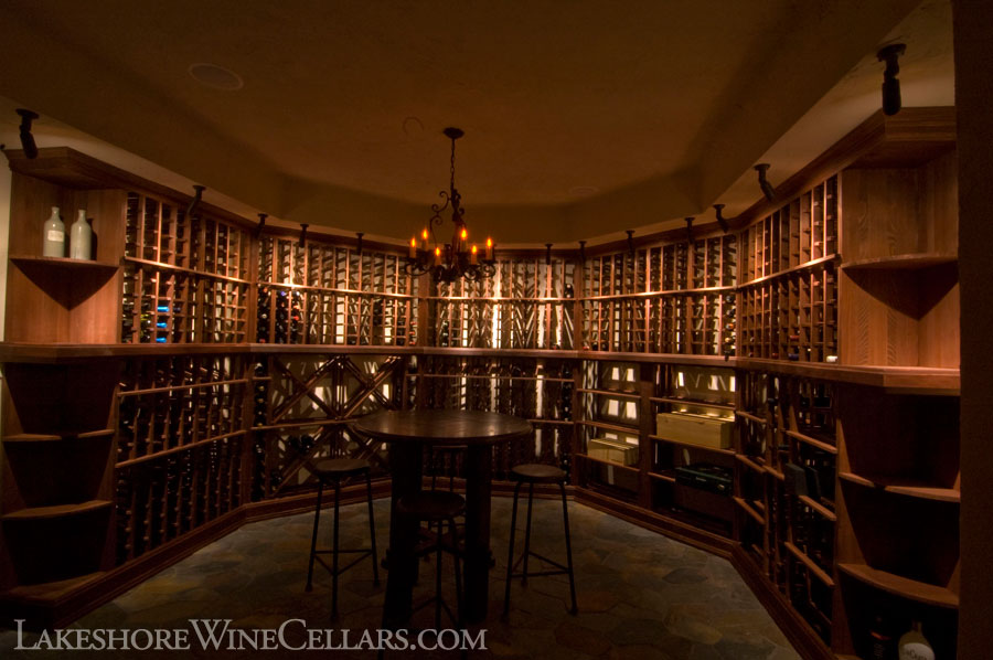 Lakeshore wine cellars diy kits for Building a wine cellar at home